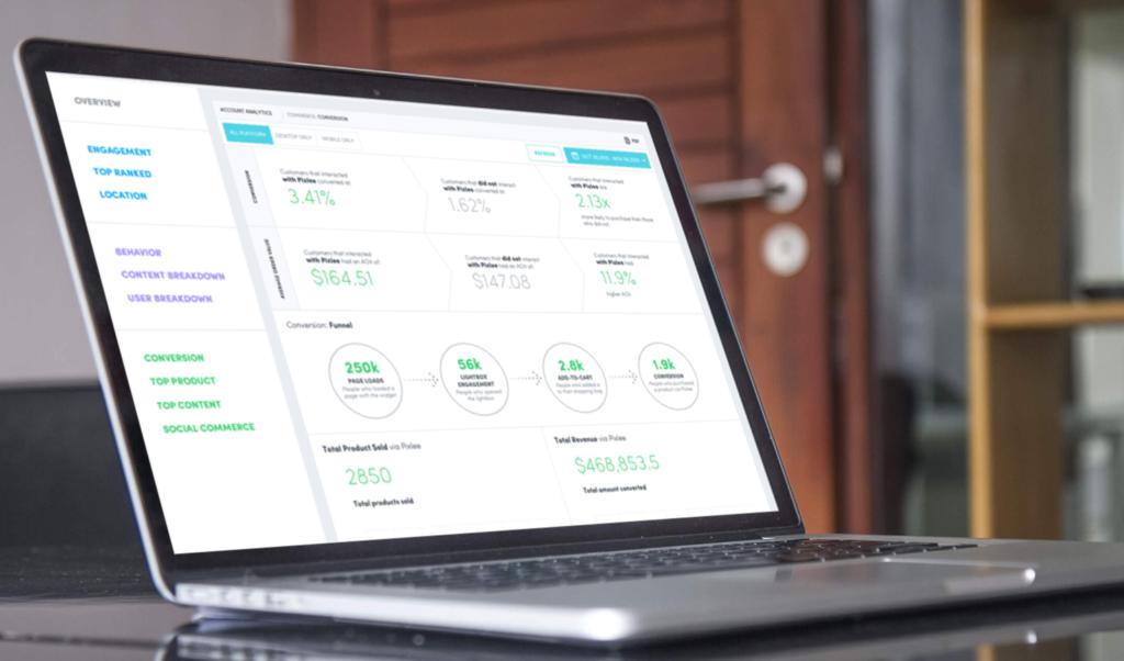 customer-facing metrics dashboard