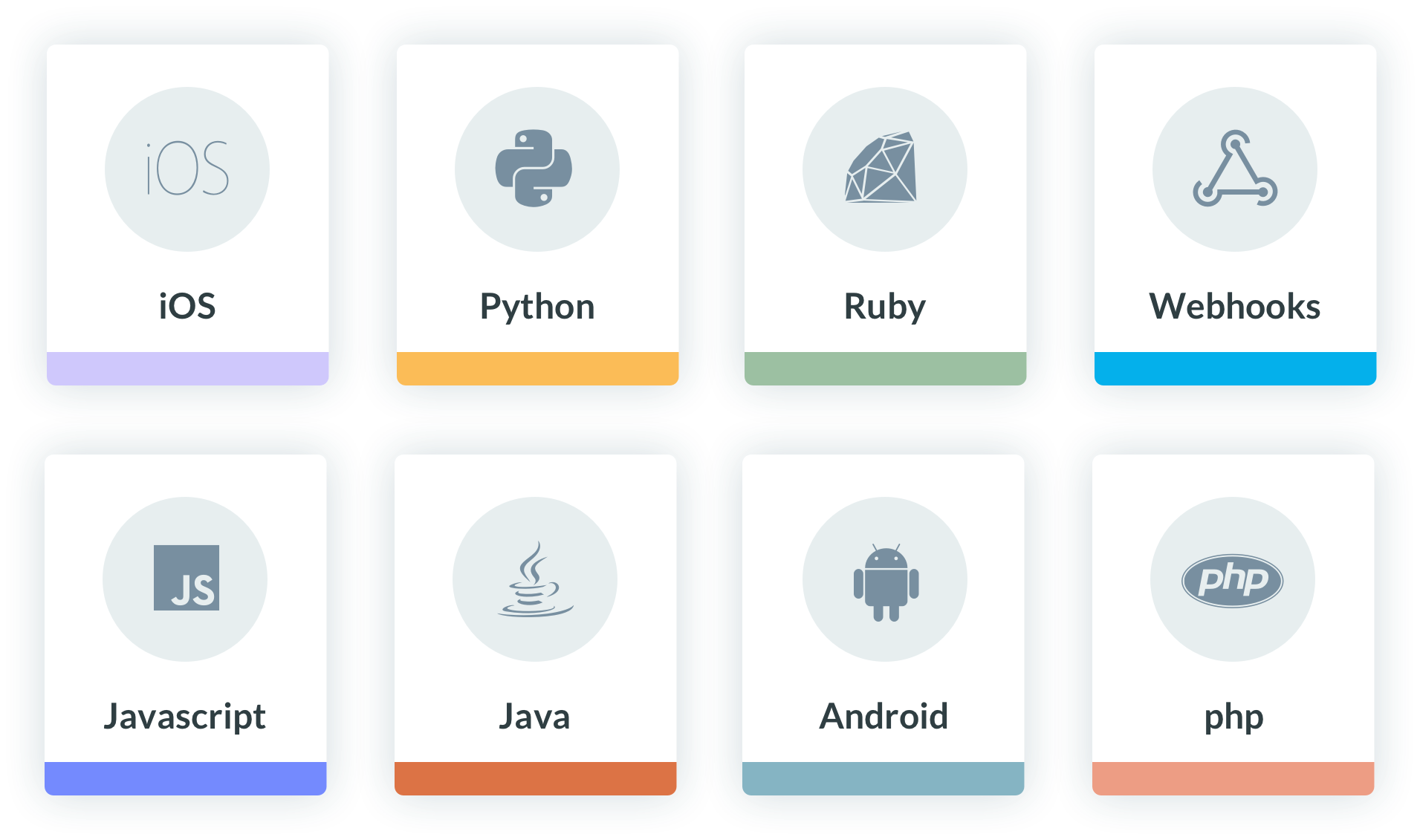 Some sources of event streaming for Keen: iOs, Python, Ruby, PHP, to name a few