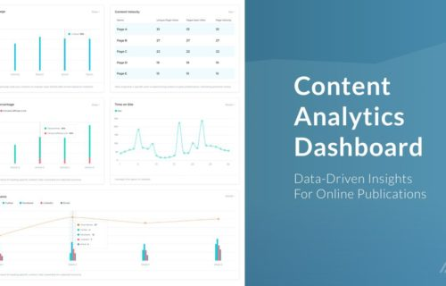 Content Analytics Dashboard: Data-Driven Insights For Online Publications
